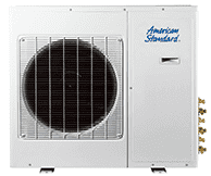 American Standard Ductless 4txm6 Outdoor Heat Pump