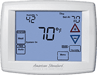 American Standard 174 Thermostat Smart Wi Fi Thermostat